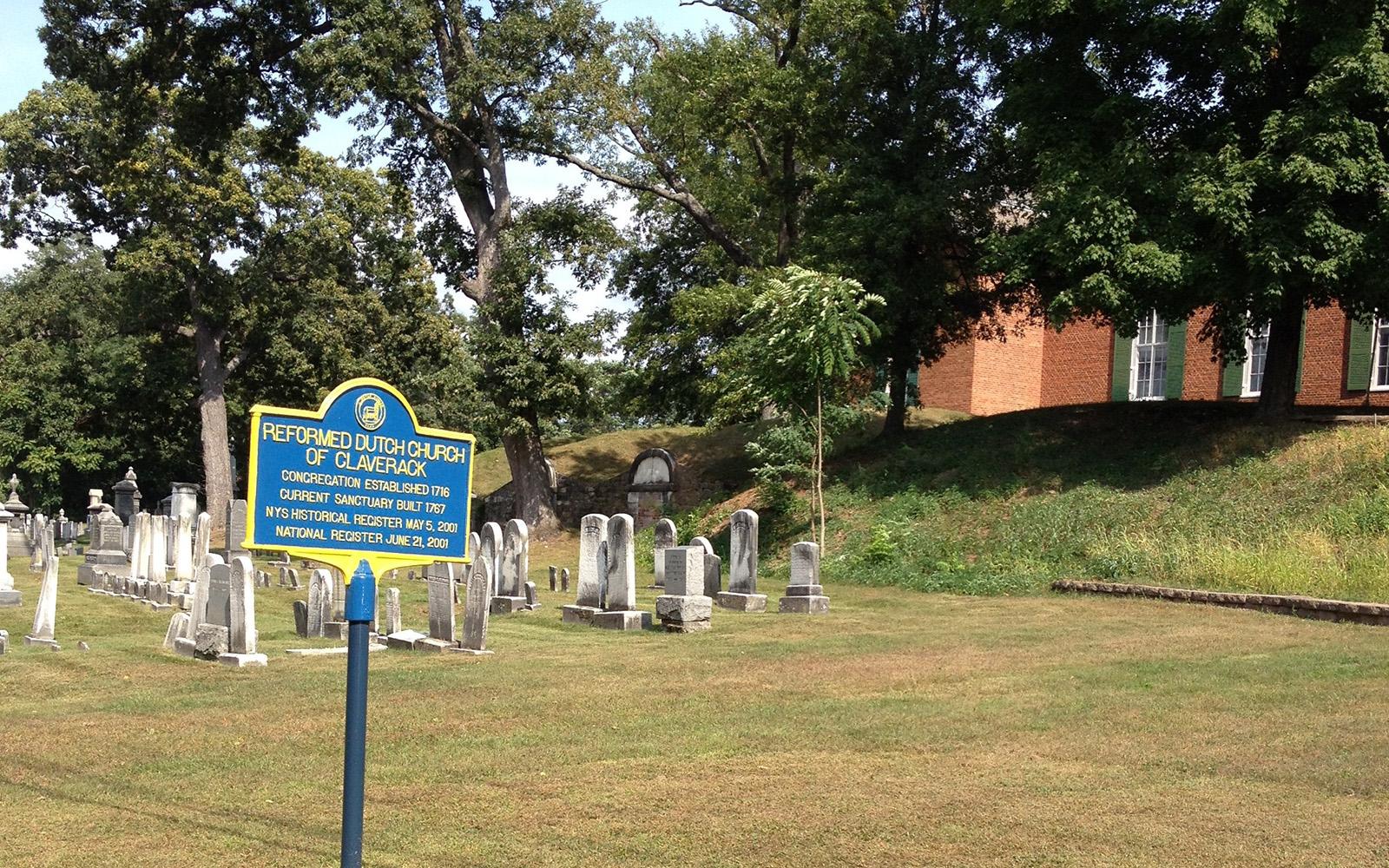 The Reformed Dutch Church in Claverack cemetery